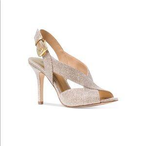 Michael Kors Becky sandal in glitter ✨